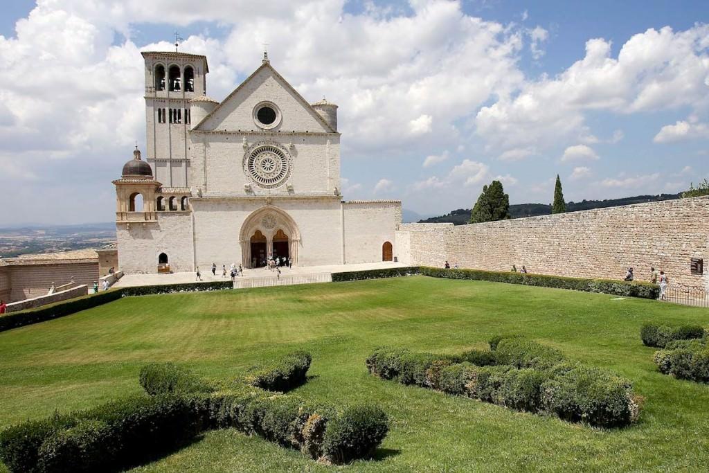 basilica san francesco assisi e giardino pax